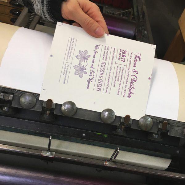 hochzeitspapeterie letterpress