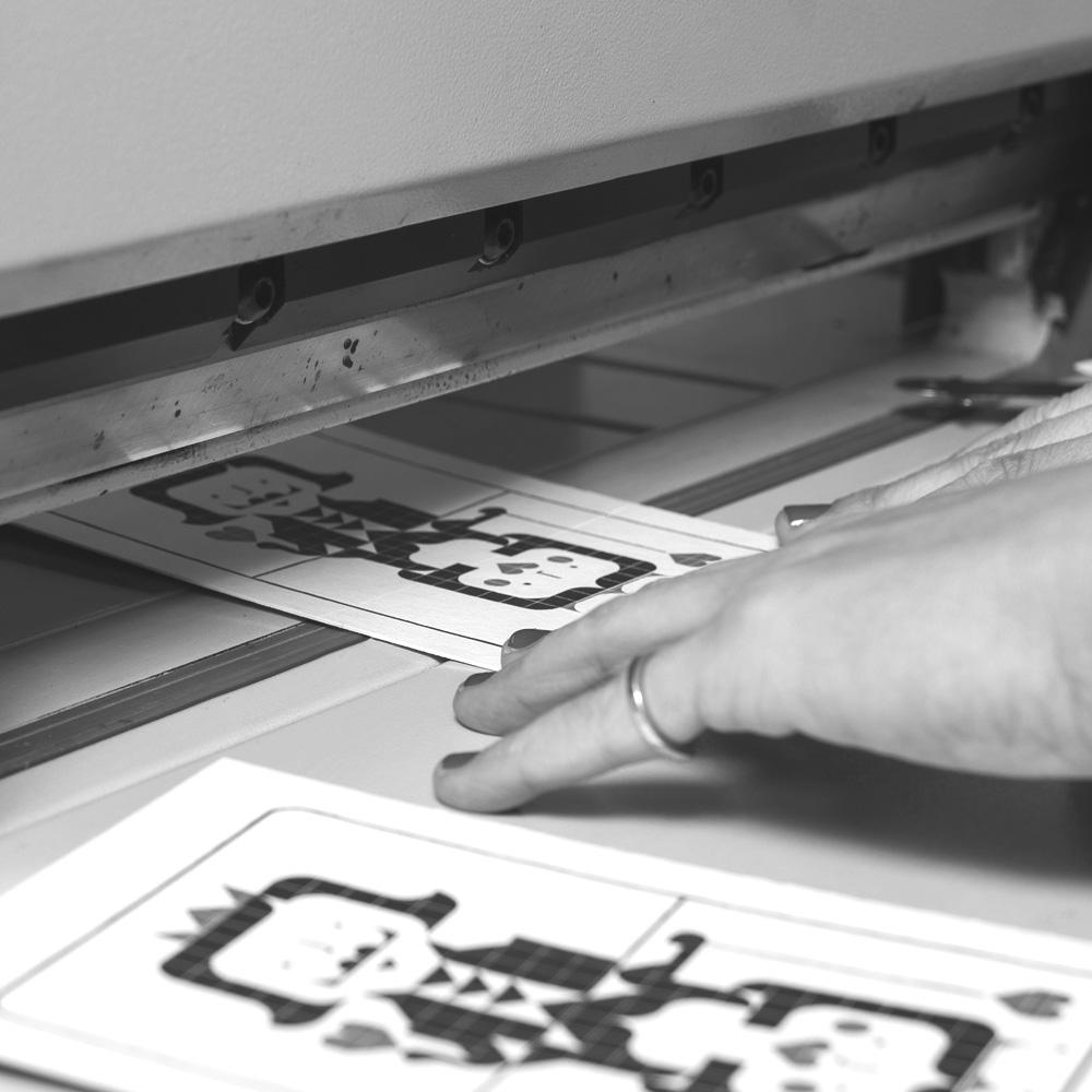 papier schneiden