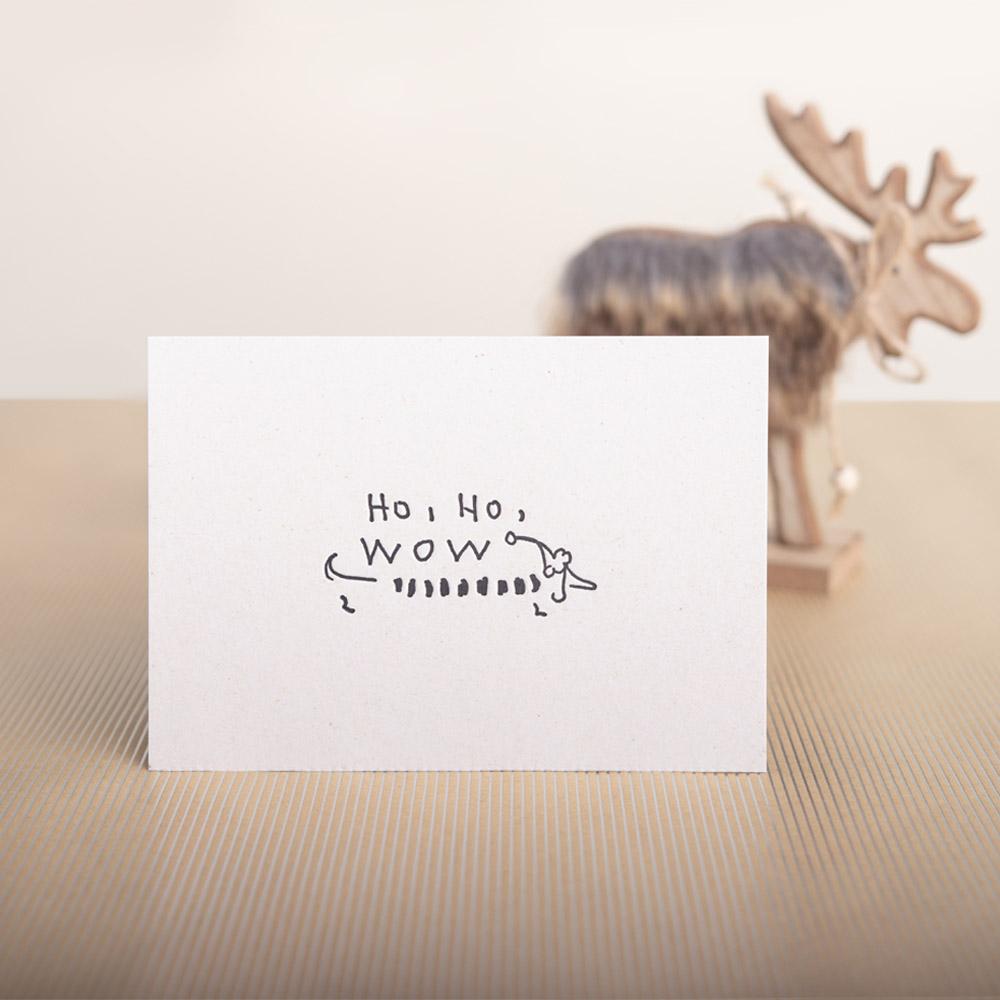 weihnachtskarte letterpress